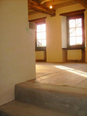 landhuis 2009 Tadelakt project doorkijk