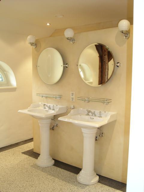 Pandomo Wall toegepast in badkamer