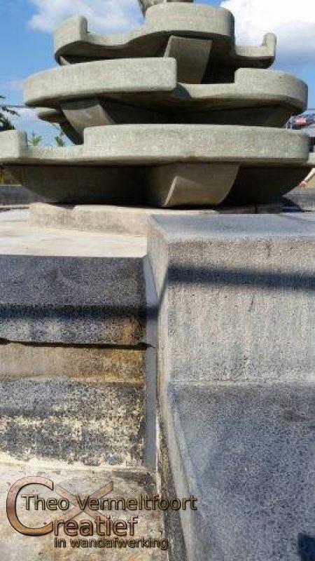 kitwerk renovatie fontein veldhoven vermeltfoort